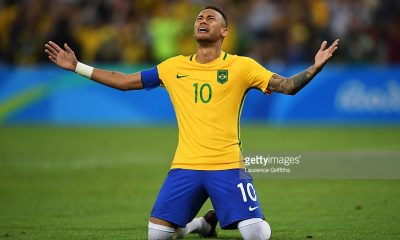 نيمار لاعب المنتخب البرازيلي