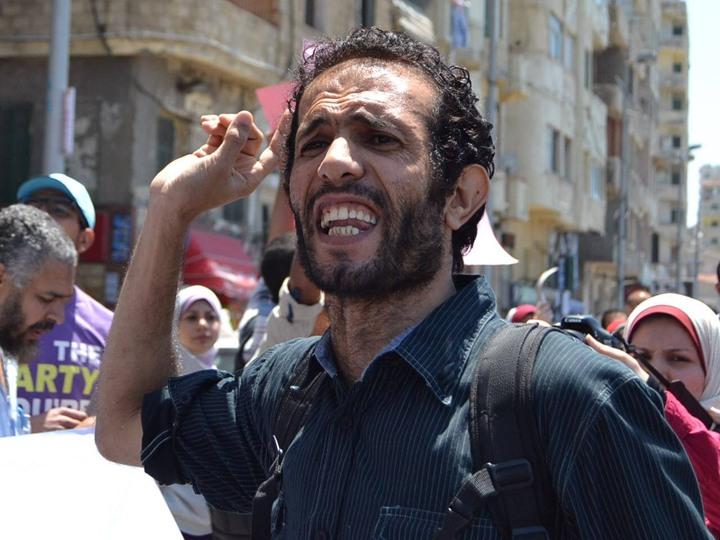 الناشط السياسي هيثم محمدين - صورة من صفحته الشخصية على فيس بوك