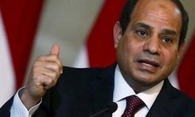 الرئيس عبدالفتاح السيسي. صورة من رويترز