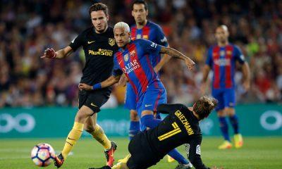 مباراة الأمس بين برشلونة وأتليتكو مدريد