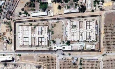 صورة عبر الأقمار الصناعية لسجن العقرب.
