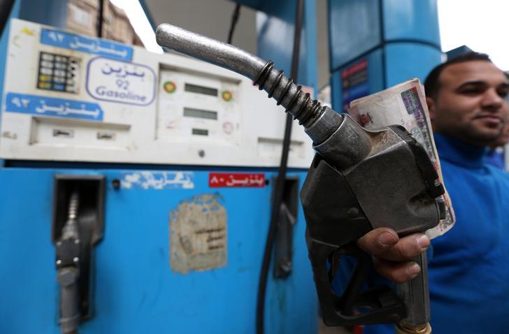 محطة بنزين في مصر- رويترز