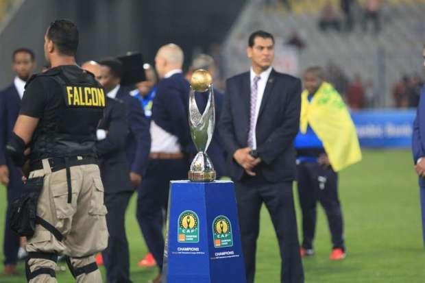 كأس بطولة دوري أبطال أفريقيا بملعب برج العرب بالإسكندرية 23 أكتوبر 2016 - صورة لأصوات مصرية