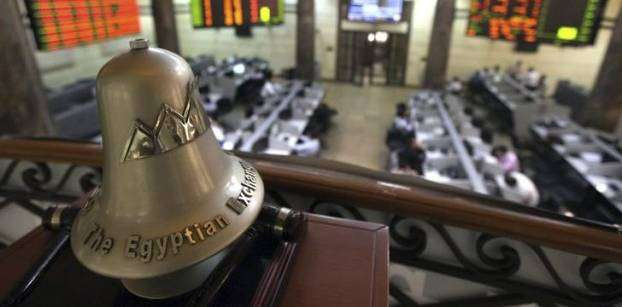 قاعة تداولات البورصة المصرية- رويترز
