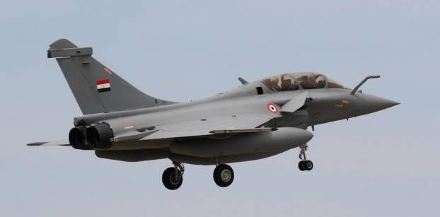 طائرة مقاتلة من طراز رافال - صورة من القوات المسلحة
