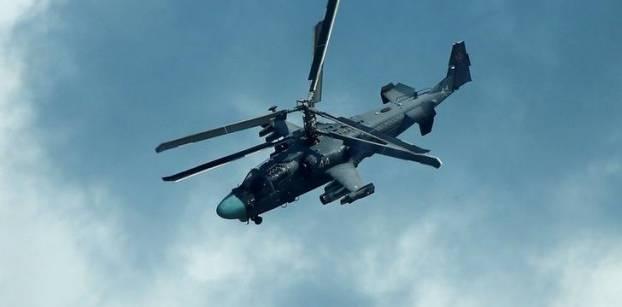"""مروحية """"كا-52"""" الروسية - رويترز"""