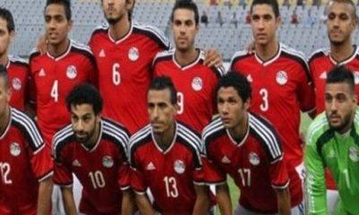 منتخب مصر لكرة القدم - صورة من الموقع الرسمي للتلفزيون المصري