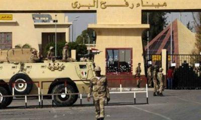 معبر رفح بين مصر وقطاع غزة - رويترز