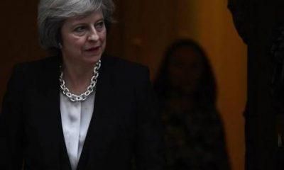 رئيس الوزراء البريطانية تريزا ماي- صورة من رويترز