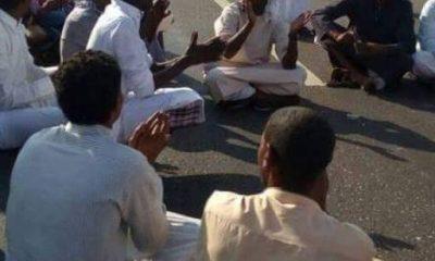 جانب من احتجاجات النوبيين 19 نوفمبر 2016 - صورة أرسلها أحد المحتجين لأصوات مصرية