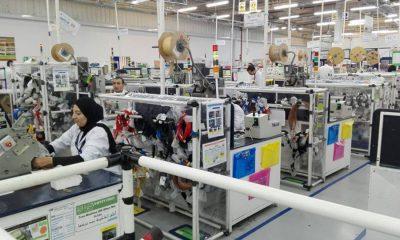 عاملات بمصنع لإنتاج ضفائر الكهرباء للسيارات ببورسعيد- صورة من وزارة الاستثمار