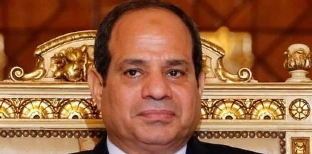 الرئيس المصري عبد الفتاح السيسي في قصر الرئاسة بالقاهرة. صورة من رويترز