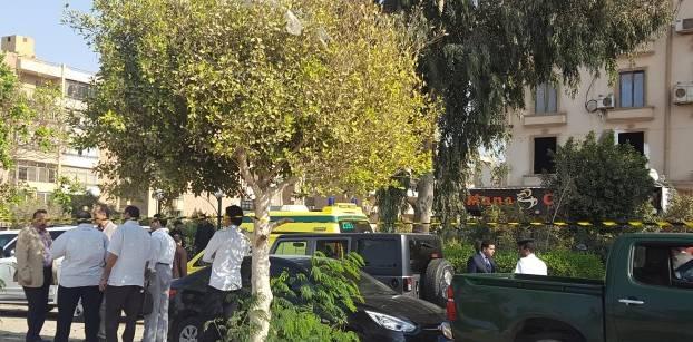 انفجار في شارع مصطفة النحاس بمدينة نصر، 4 نوفمبر 2016- صورة لأصوات مصرية