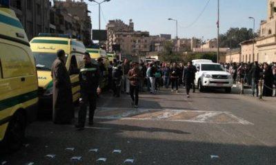 انفجار بمحيط الكاتدرائية المرقسية بالعباسية، 11 ديسمبر 2016 - صورة لأصوات مصرية